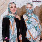 Hijab Pashmina Pet Saluri.