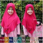 Hijab Bergo Pita Anak.