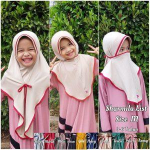 Hijab Sharmilla List Anak Size M.