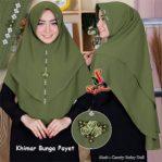 Khimar Bunga Payet.