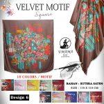 Velvet Motif 6 SG Jilbab
