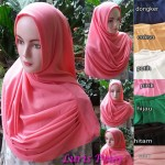 Hijab Luris Polos