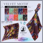 Velvet Motif Umama 8 SG Jilbab