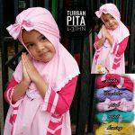 Kerudung Turban Pita