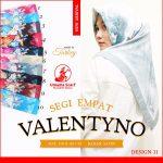 Segiempat Valentyno 28 31 510 Design 11 SG Jilbab