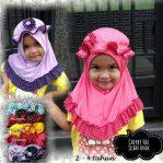 Jilbab Anak Cherry Hat