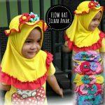 Jilbab Anak Flow Hat