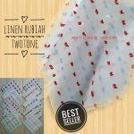 Linen Rubiah Twotone 67 70 90 1.260 SG Jilbab