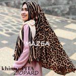 Khimar Pita Ziopard SG Jilbab