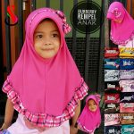 Jilbab Burberry Rempel Anak