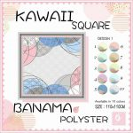 Kawaii Square 21 24 30 340 SG Jilbab design 1