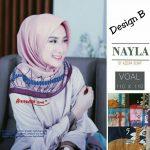 Segiempat Nayla Azzura 27 30 40 580 SG Jilbab Design B