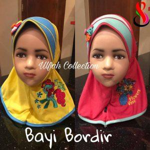 Jilbab Bayi Bordir