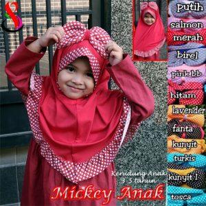 Jilbab Mickey Anak