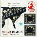 Velvet Black 27 30 40 490 SG Jilbab by Umama 03