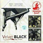 Velvet Black 27 30 40 490 SG Jilbab by Umama 18
