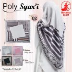 Segiempat Poly Syar'i Motif 35 38 50 650 by Umama Scarf SG Jilbab Design 02