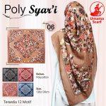 Segiempat Poly Syar'i Motif 35 38 50 650 by Umama Scarf SG Jilbab Design 06