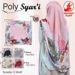 Segiempat Poly Syar'i Motif 35 38 50 650 by Umama Scarf SG Jilbab Design 08