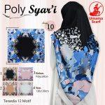 Segiempat Poly Syar'i Motif 35 38 50 650 by Umama Scarf SG Jilbab Design 10