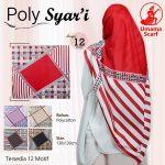 Segiempat Poly Syar'i Motif 35 38 50 650 by Umama Scarf SG Jilbab Design 12