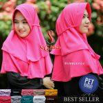 Jilbab Pet Rubiah 2 Layers