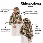 SALE STOCK Khimar Army Premium