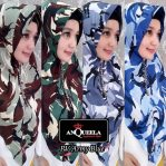 Hijab PV Army Blue Anqueela
