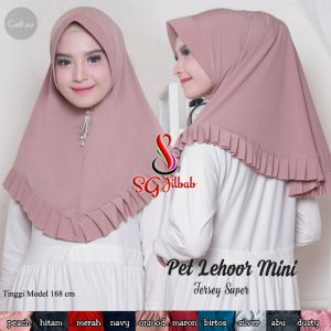 Jilbab Pet Lehor Mini