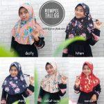 SALE Hijab Rempel Tali Bunga