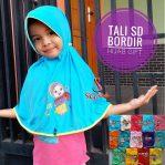 Jilbab Anak Tali Bordir Hijab Gift SD