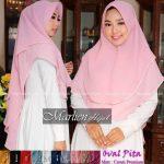 Hijab Oval Pita