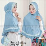 SALE STOCK Hijab Serut Louisa