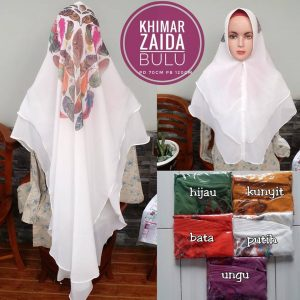 Khimar Zaida Bulu