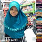 Jilbab Anak Rempel Gotic