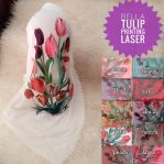 Segi Empat Tulip Printing Laser