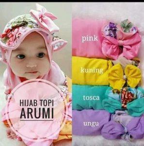Hijab Topi Arumi Anak