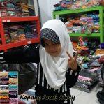 Jilbab Kepang Anak Motif