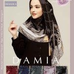 Hijab Segi Empat DAMIA LILAC 8 Design