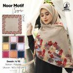 SegiEmpat Syar'i Noor Motif 10 Desain
