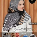 Segi Empat Vinetta Motif Waterproof