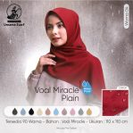 Segi Empat Waterproof Voal Miracle Plain