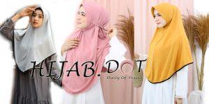 Muncul Lagi Grosir Hijab Instan Daily Premium, Hijab.DOT Bisa beli Disini.