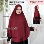 Hijab Rempel Basic Extra Size