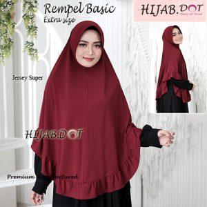 Hijab Rempel Basic Extra Size