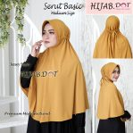 Hijab Serut Basic Md (Medium Size)