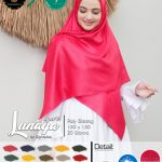Segi Empat Waterproof Lunaya Syar'i, 20 Warna