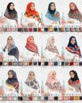 Segi Empat CORRINA (12 Design, 5 Colour)