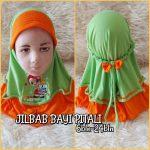 Jilbab Bayi Kaos Instan.