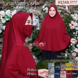 Hijab Syria Niqob Carla Md. (Medium Size).